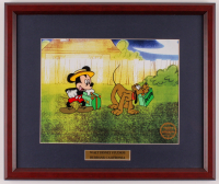 "Walt Disney's ""Mr. Mouse Takes a Trip"" 16x18.5 Custom Framed Animation Serigraph Display at PristineAuction.com"