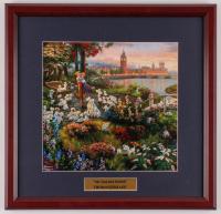 "Thomas Kinkade Walt Disney's ""101 Dalmatians"" 17x17.5 Custom Framed Print Display at PristineAuction.com"