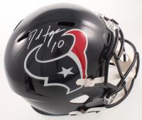 DeAndre Hopkins Signed Texans Full-Size Speed Helmet (JSA COA) at PristineAuction.com