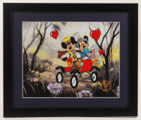 "Walt Disney's Goofy LE ""Nifty Nineties"" 16x19 Custom Framed Animation Serigraph Display at PristineAuction.com"