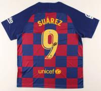 Luis Suarez Signed FC Barcelona Jersey (Beckett COA) at PristineAuction.com