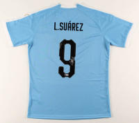Luis Suarez Signed Uruguay Jersey (Beckett COA) at PristineAuction.com