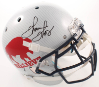 Thurman Thomas Signed Bills Full-Size Authentic On-Field Hydro Dipped Helmet (JSA COA) at PristineAuction.com