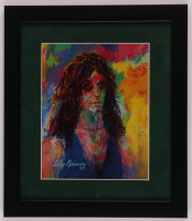 "LeRoy Neiman ""Howard Stern"" 13x15 Custom Framed Print Display at PristineAuction.com"