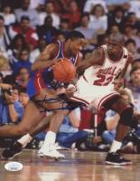 Isiah Thomas Signed Pistons 8x10 Photo (JSA COA) at PristineAuction.com