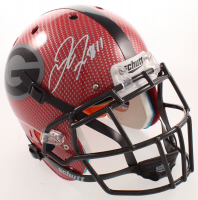 Jake Fromm Signed Georgia Bulldogs Full-Size Authentic On-Field Hydro Dipped Helmet (Beckett COA) at PristineAuction.com