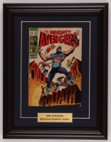 """Vintage 1969 """"The Avengers"""" Issue #63 Marvel 13.5x17.5 Custom Framed Comic Book Display at PristineAuction.com"""