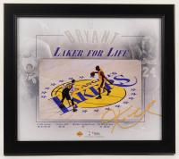 "Kobe Bryant Lakers ""Laker For Life"" 14.75x16.75 Custom Framed Photo Display at PristineAuction.com"