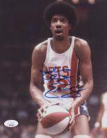 """Julius """"Dr. J"""" Erving Signed 76ers 8x10 Photo (JSA COA) at PristineAuction.com"""