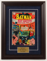 "Vintage Original 1967 ""Batman"" Issue #191 DC 13.5x17.5 Custom Framed Comic Book at PristineAuction.com"