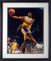 Kobe Bryant Signed Lakers 22x26 Custom Framed Photo (Steiner Hologram) at PristineAuction.com