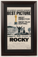 """Rocky"" 16x24 Custom Framed Movie Poster Display at PristineAuction.com"