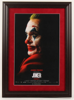 """Joker"" 15.5x21.5 Custom Framed Movie Poster Display at PristineAuction.com"