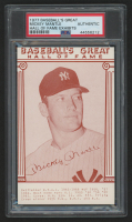 Mickey Mantle 1977 Baseball's Great Hall of Fame Exhibits Card (PSA Authentic) at PristineAuction.com