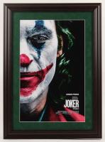 """Joker"" 16x22 Custom Framed Movie Poster Display at PristineAuction.com"
