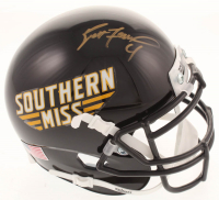 Brett Favre Signed Southern Miss Golden Eagles Mini-Helmet (Radtke COA) at PristineAuction.com