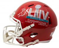 Damien Williams Signed Chiefs Super Bowl LIV Champions Full-Size Speed Helmet (Beckett COA) at PristineAuction.com