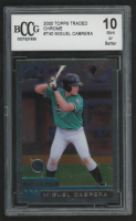 Miguel Cabrera 2000 Topps Traded Chrome #T40 RC (BCCG 10) at PristineAuction.com