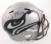 D.K. Metcalf Signed Seahawks Full-Size AMP Alternate Speed Helmet (JSA COA) at PristineAuction.com