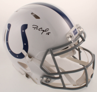 Parris Campbell Signed Colts Full-Size Authentic On-Field Speed Helmet (Beckett COA) at PristineAuction.com