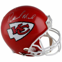 Patrick Mahomes Signed Chiefs Full-Size Authentic On-Field Helmet (Fanatics Hologram) at PristineAuction.com
