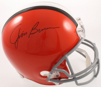 Jim Brown Signed Browns Full-Size Helmet (Schwartz Sports COA) at PristineAuction.com