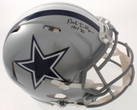 """Bob Lilly Signed Cowboys Full-Size Authentic On-Field Helmet Inscribed """"HOF 80"""" (JSA COA) at PristineAuction.com"""