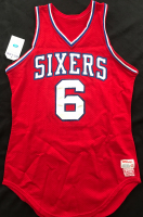 "Julius ""Dr. J"" Erving 1979 76ers Game-Used Jersey (Mears LOO - A10) at PristineAuction.com"