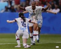 Rose Lavelle, Alex Morgan & Megan Rapinoe Signed Team USA Soccer 16x20 Photo (JSA COA) at PristineAuction.com
