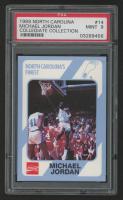 Michael Jordan 1989-90 North Carolina Collegiate Collection #14 (PSA 9) at PristineAuction.com