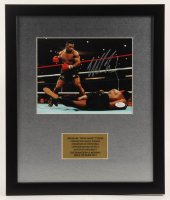 Mike Tyson Signed 16x19 Custom Framed Photo Display (JSA COA) at PristineAuction.com