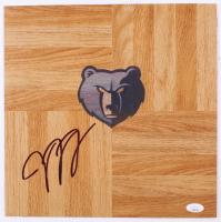 Jaren Jackson Jr. Signed Grizzlies Logo 12x12 Floor Piece (JSA COA) at PristineAuction.com