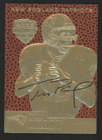 Tom Brady 2000 Draft Pick Feel The Game 23KT Gold Card at PristineAuction.com