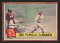 Babe Ruth 1962 Topps #138  Special 4 / The Famous Slugger at PristineAuction.com