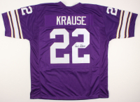 Paul Krause Signed Jersey (JSA Hologram) at PristineAuction.com