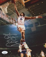 Julius Erving Signed 76ers 8x10 Photo (JSA COA) at PristineAuction.com