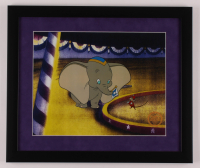 "Walt Disney's ""Dumbo"" 16x19 Custom Framed Animation Serigraph Display at PristineAuction.com"