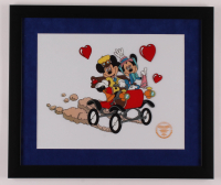 """Walt Disney's LE """"Nifty Nineties"""" 16x19 Custom Framed Animation Serigraph Display at PristineAuction.com"""