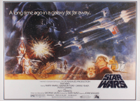 """Star Wars IV: A New Hope"" 27x37.5 Movie Poster at PristineAuction.com"