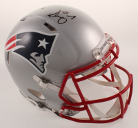 Sony Michel Signed Patriots Full-Size Authentic On-Field Speed Helmet (Beckett COA) at PristineAuction.com