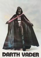 "Vintage 1977 Star Wars ""Darth Vader"" 20x28 Poster at PristineAuction.com"