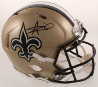 Alvin Kamara Signed Saints Full-Size Authentic On-Field Speed Helmet (JSA COA) at PristineAuction.com