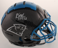 D.J. Moore Signed Panthers Full-Size Authentic On-Field Hydro-Dipped F7 Helmet (JSA COA) at PristineAuction.com