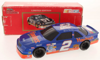 Ward Burton Signed LE #2 Hardee's 1992 Pontiac 1:24 Scale Die Cast Car Coin Bank with Lock (JSA COA) at PristineAuction.com