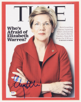 Elizabeth Warren Signed 11x14 Photo (PSA COA) at PristineAuction.com