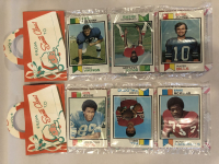 Lot of (2) 1973 Topps Unopened Football Christmas Rack Packs at PristineAuction.com