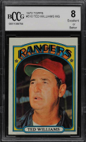 Ted Williams 1972 Topps #510 MG (BCCG 8) at PristineAuction.com