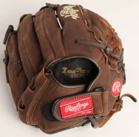 """Nolan Ryan Signed Rawlings Baseball Glove Inscribed """"324 Wins"""", """"7 No Hitters"""", """"H.O.F. '99"""", & """"5,714 K's"""" with Display Case (PSA COA) at PristineAuction.com"""