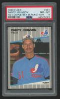 Randy Johnson 1989 Fleer #381 RC (PSA 8) at PristineAuction.com