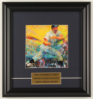 "LeRoy Neiman ""Mickey Mantle - The Commerce Comet"" 13x14 Custom Framed Print Display at PristineAuction.com"